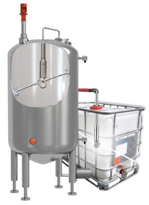 tank and bulk container washer