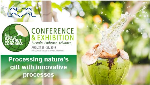 Alfa Laval at World Coconut Congress 2019