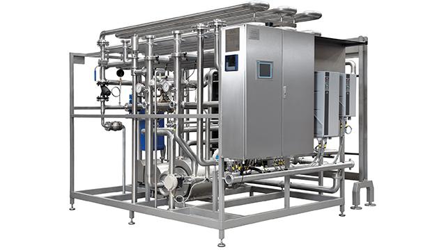 Máquina de pasteurización Flexitherm de Alfa Laval automática para la pasteurización de cerveza