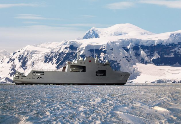 Irving to build Canada arctic vessel 630x432