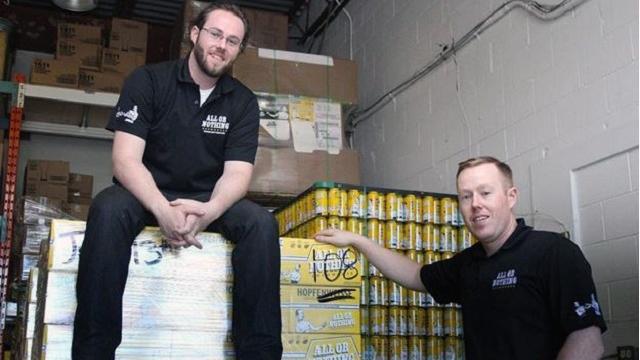 Oshawa brewery sanitizer equipment