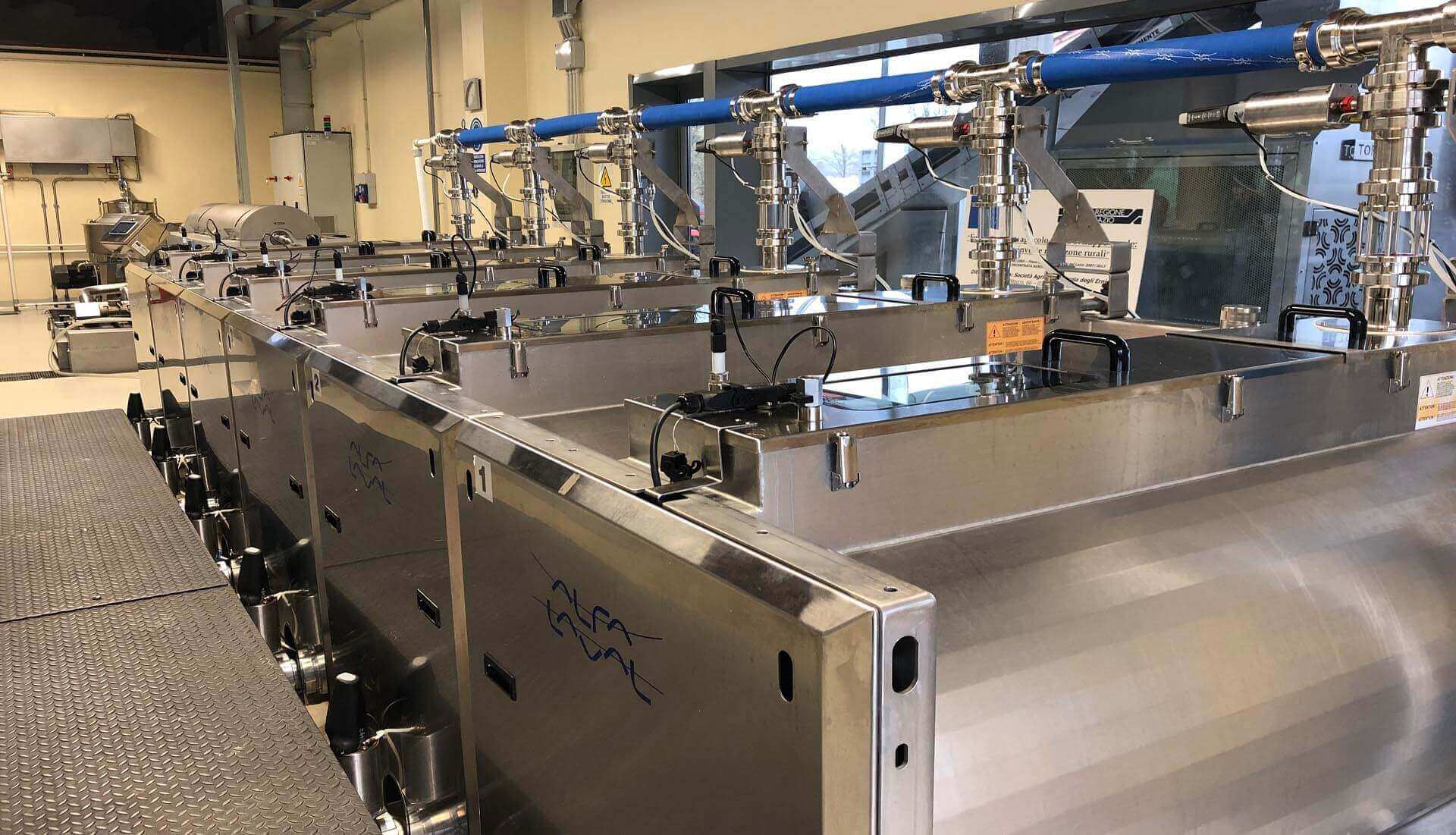 Impianto completo Alfa Laval Italia