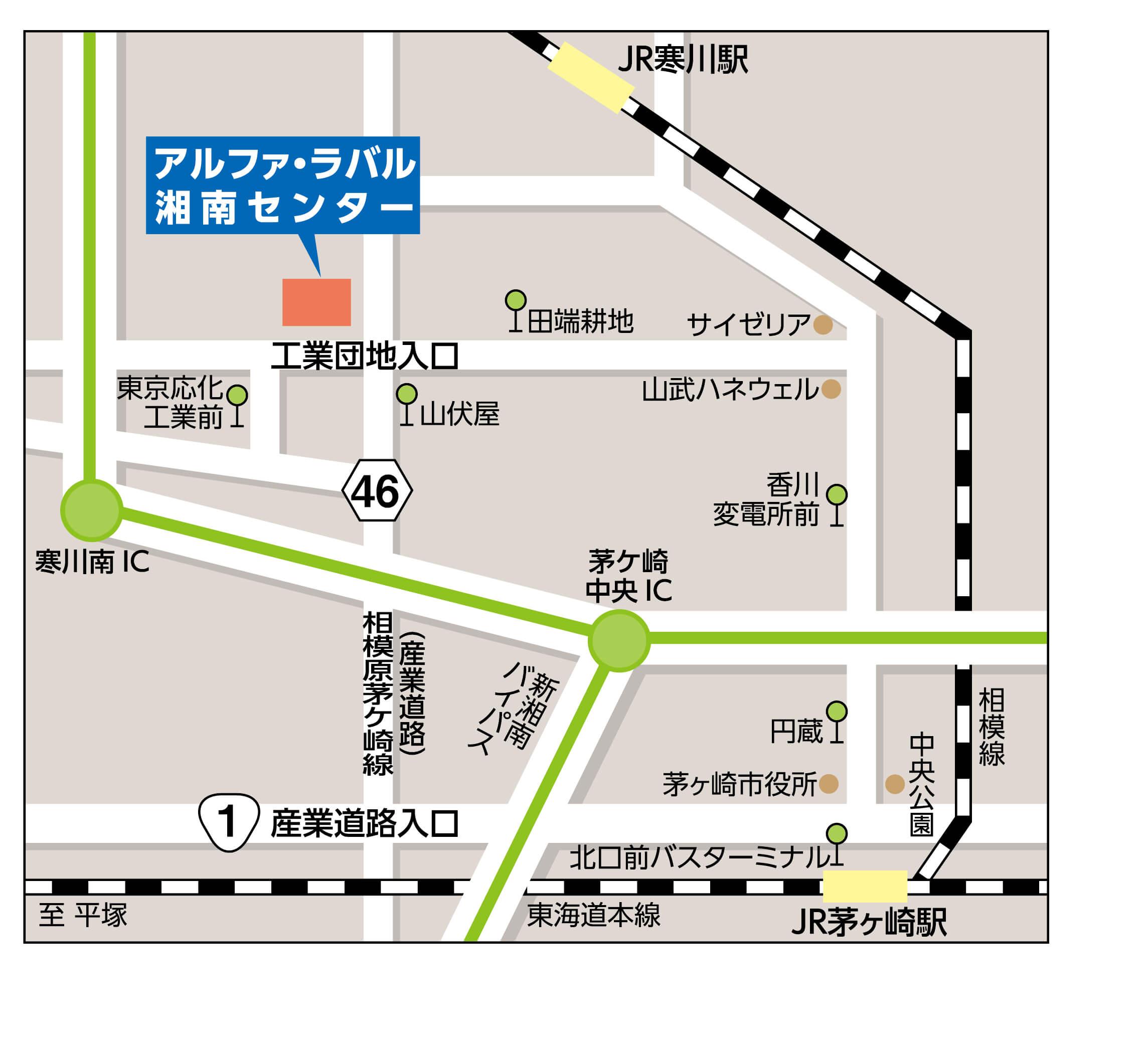 ShonanFactory Map