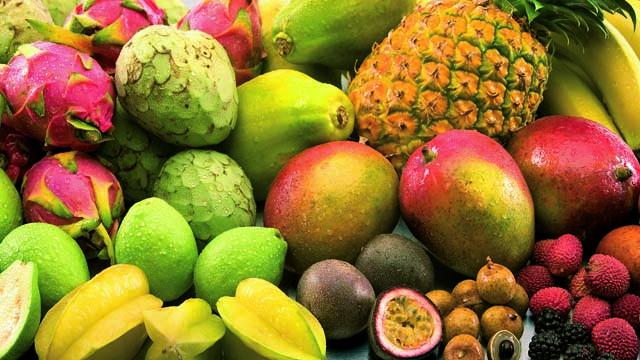 Tropical fruit 630x360