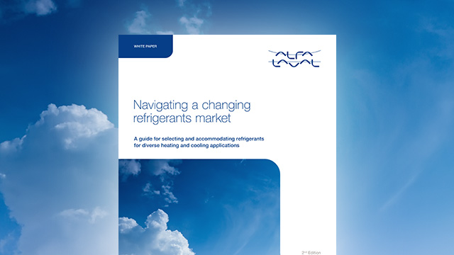 White paper: Navigating a changing refrigerants market
