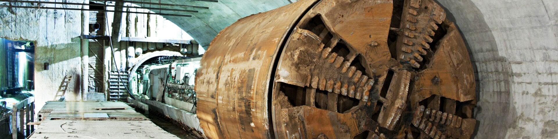 Tunnel drilling herobanner 1920x480