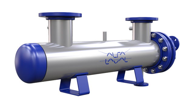 compact shell and tube heat exchanger