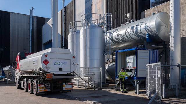 Delivery methanol AlfaLavalTestandTraningCentre 640x360