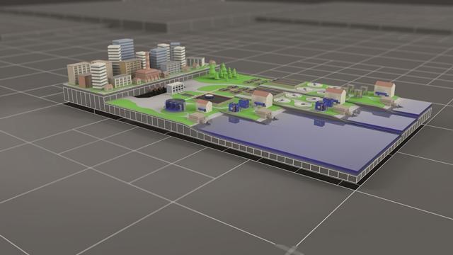Municipal Waste water treatment plant 640x360
