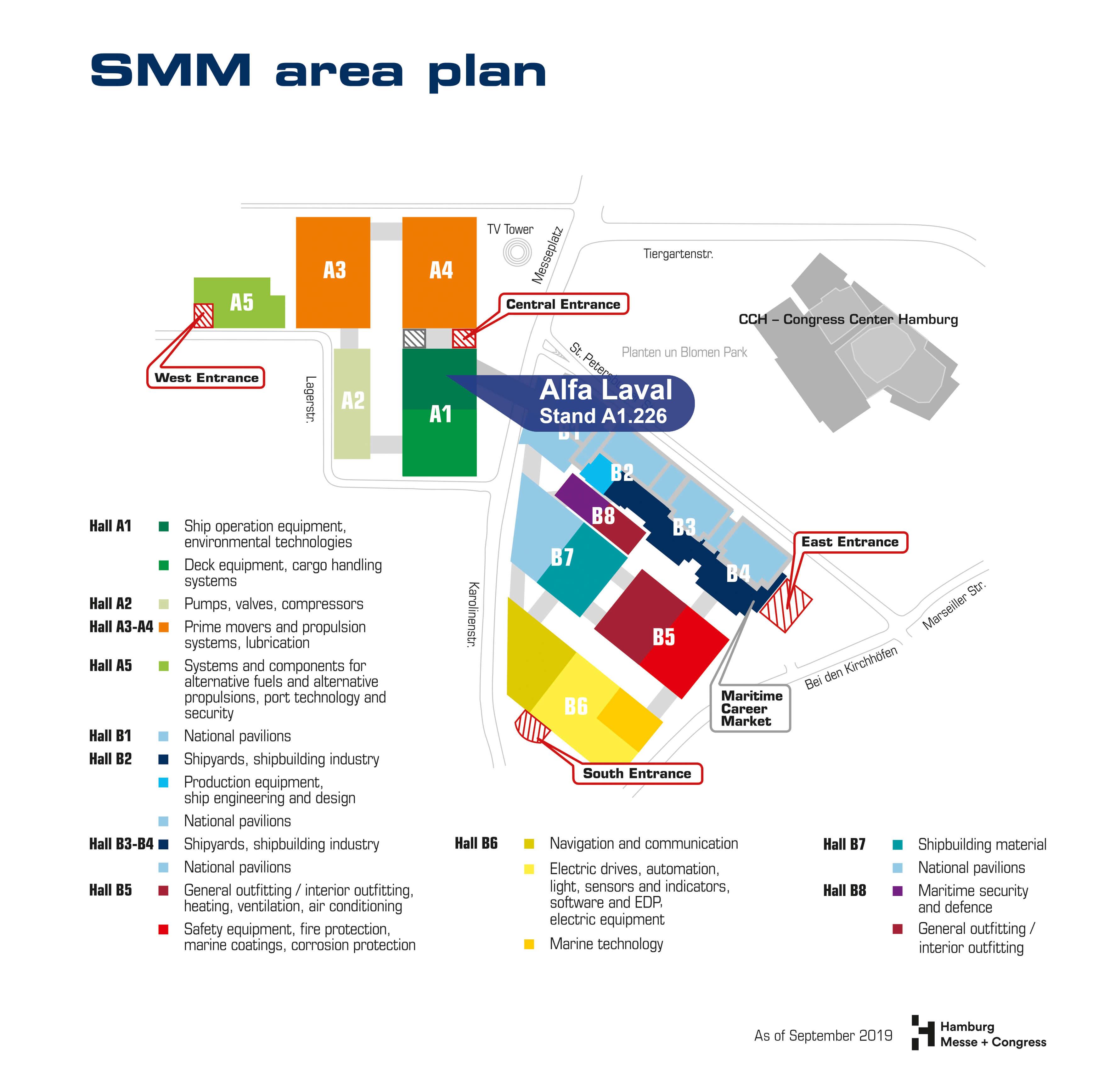 SMM Hallenplan