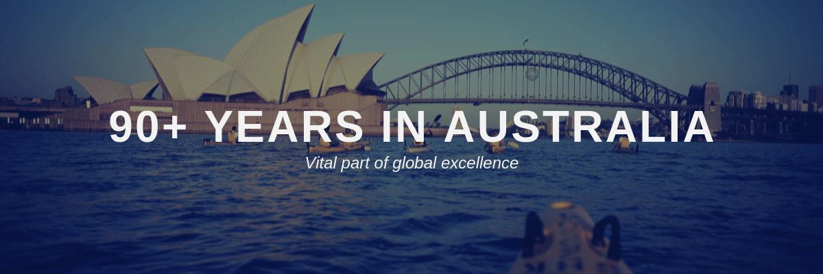 90 Years in Australia