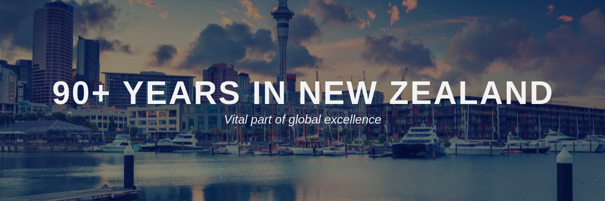 90 Years in New Zealand
