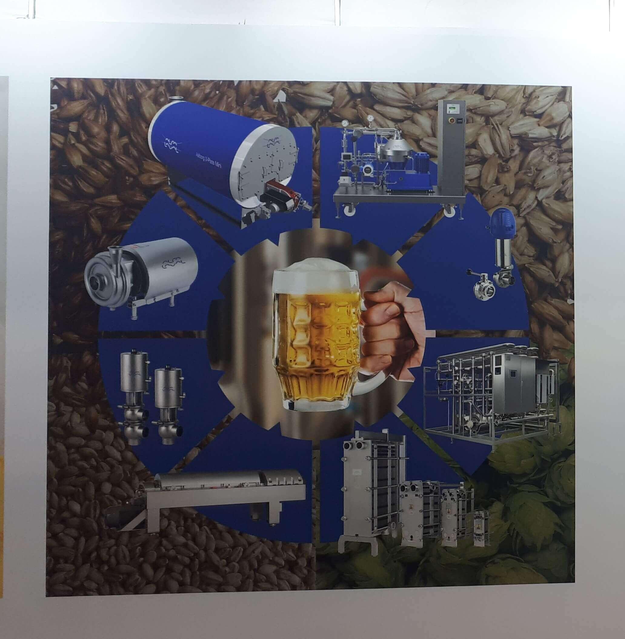 Portfólio para cervejaria