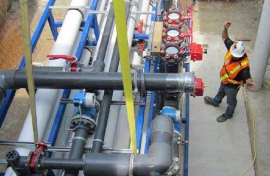 Neepawa  WWTP Manitoba waste water equipment WTP
