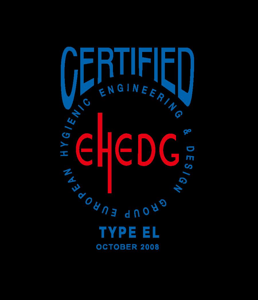 EHEDG所颁发卫生设计认证