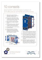 10 conseils de maintenance échangeurs thermiques Alfa Laval