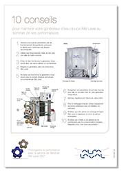 10 conseils de maintenance générateurs d'eau douce Alfa Laval