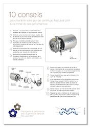 10 conseils de maintenance équipements hygiéniques Alfa Laval