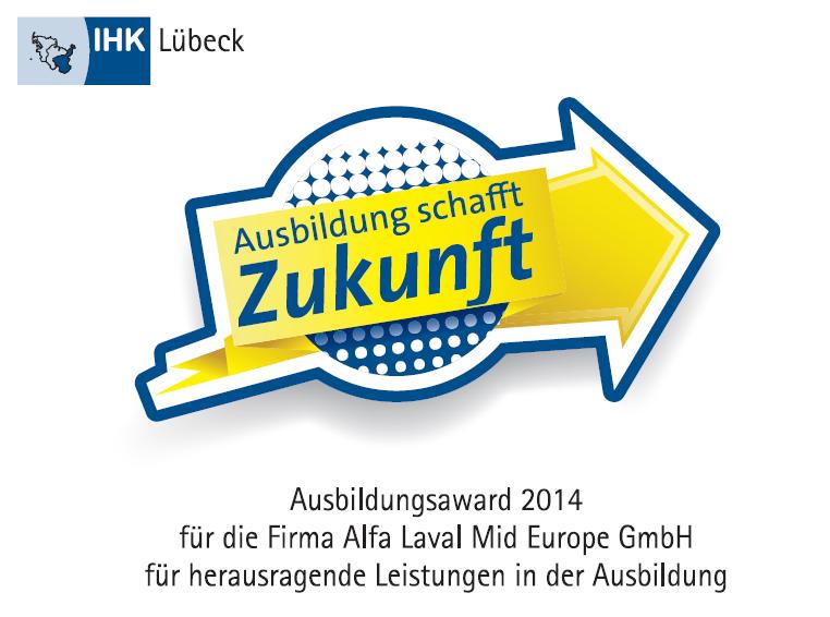 Im Rahmen der Ausbildung kooperieren wir mit der IHK Lübeck - See more at: http://www.alfalaval.de/karriere/ihr-einstieg-bei-alfa-laval/ausbildung-bei-alfa-laval-mid-europe