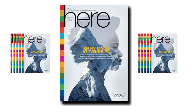 Here magazine dk alfa laval frontpage