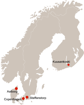 Service Centers i Norden