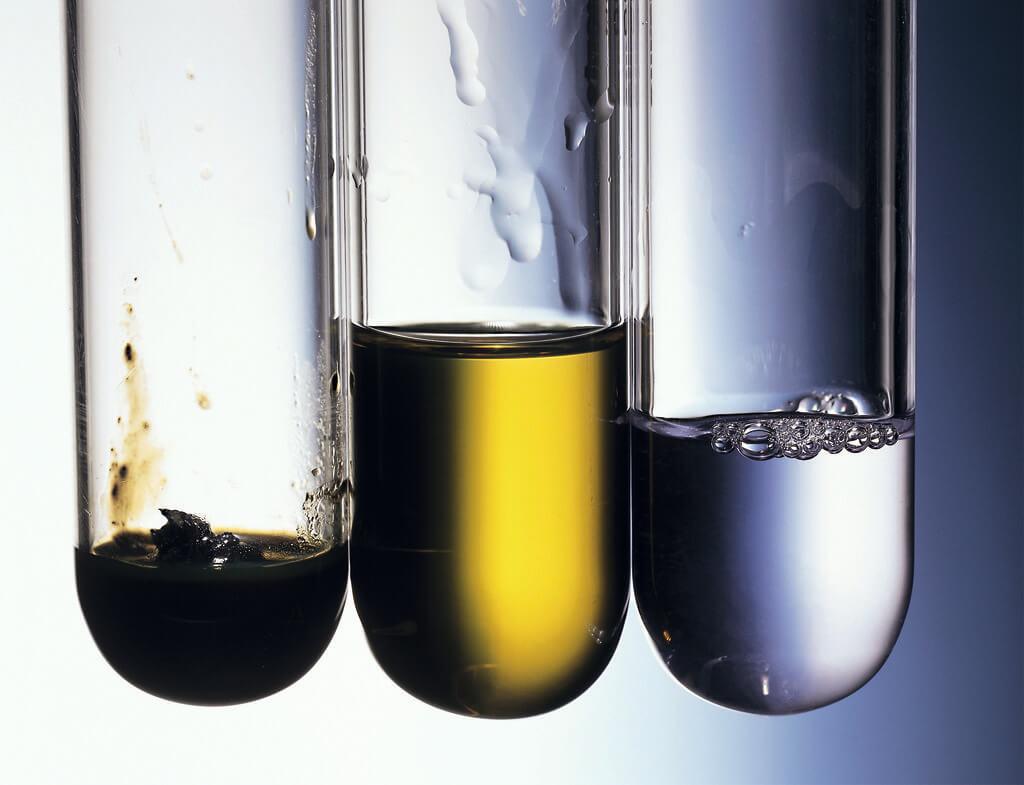 Three types of oils