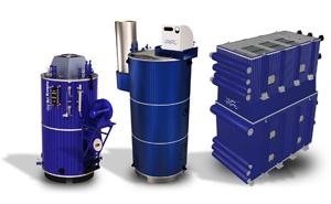 gama de calderas de recuperación de calor para la industria marina