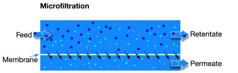 filtracion por membrana microfiltracion
