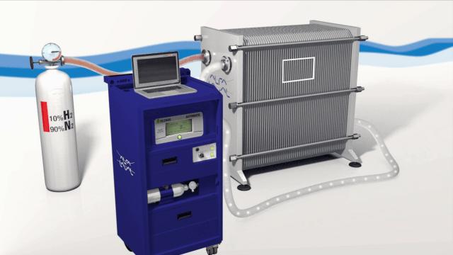 Test de Integridad para intercambiadores de calor de Alfa Laval