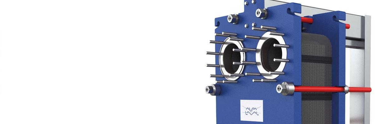 Intercambiador de calor línea industrial Alfa Laval