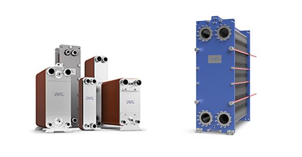 Una amplia gama de intercambiadores de calor