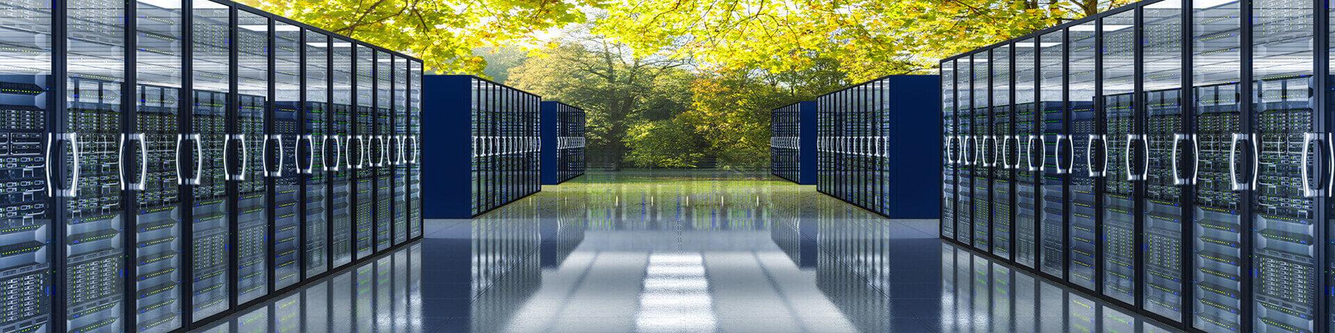 Data centers diseñados pensando en el respeto al medio ambiente, mejorando la eficiencia energética de la refrigeración.