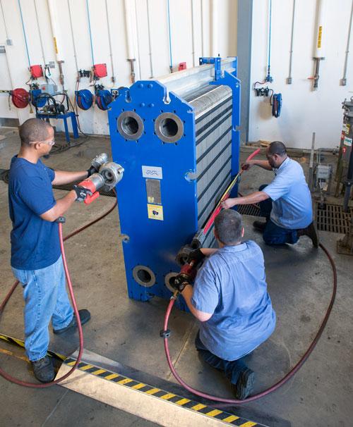 Alfa Laval plate heat exchanger service 500