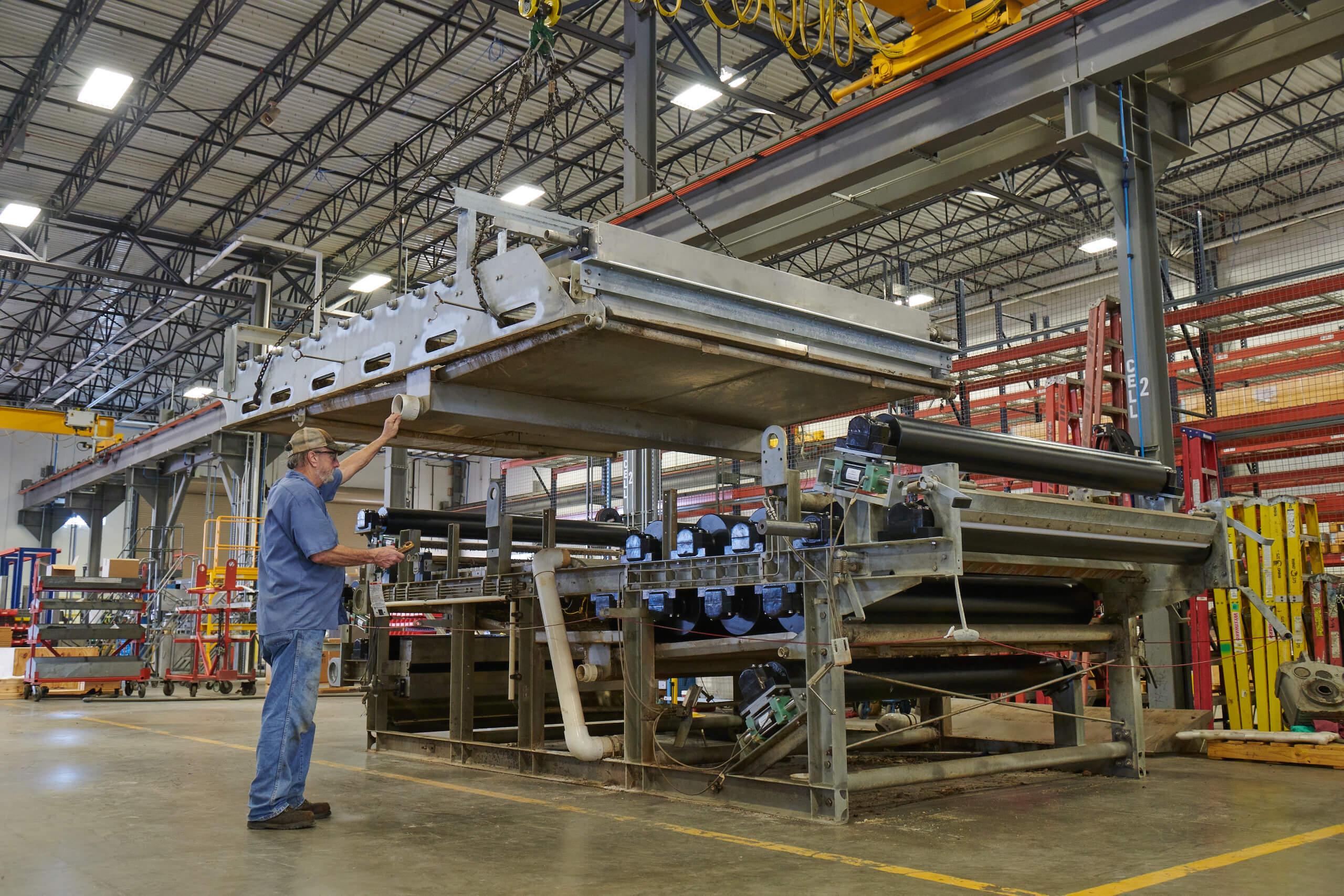 Belt Press Rebuild