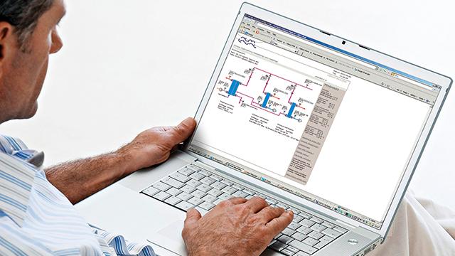 Online virtual plant audit
