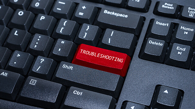 Remote trouble shooting from any computer or device