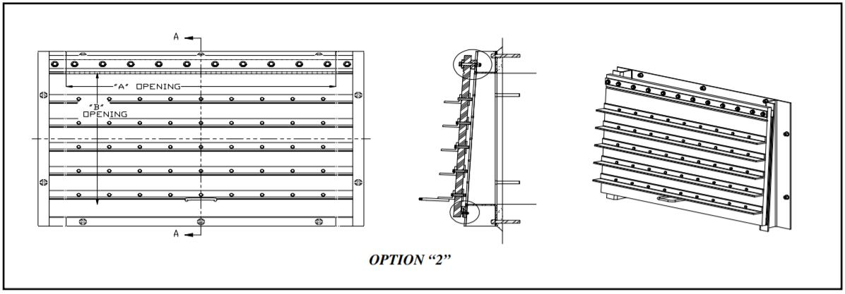 Flap Gate option 2