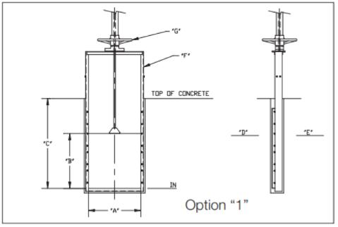 Slide gate Option 1