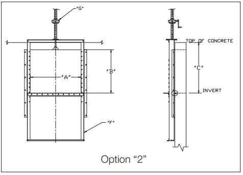 Slide gate Option 2