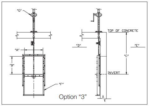 Slide gate Option 3