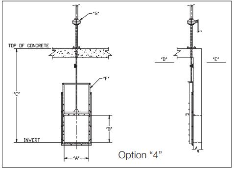 Slide gate Option 4