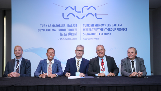 Turkish Shipowners Ballast Water Treatment Group chooses Alfa Laval PureBallast 3 for its vessels