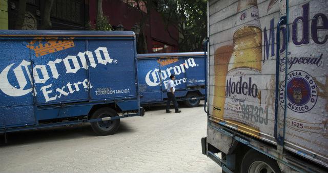 Corona Modelo trucks large