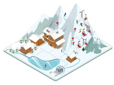 Ski resort MBR membrane 482x358