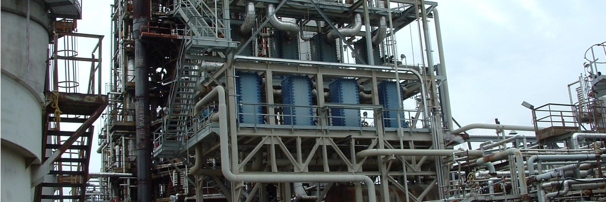 Compabloc installation at a petrochemical plant