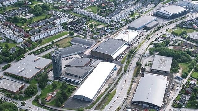 aerial view stavanger tjensvoll conference center 640x360