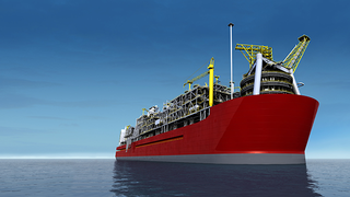 the world's first floating natural gas plant flng 320x180