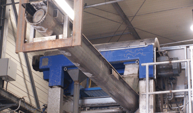 Alfa Laval ALSYS 30 decanter system at RELUX plastics recycling Germany