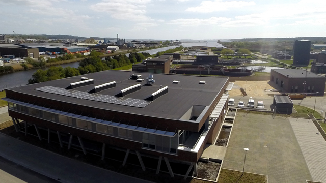 Horsens municipal wastewater treatment plant