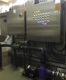 Alfa Laval AS-H Iso-Disc Cloth Media Filters at the Inglewood Wastewater treatment plant, Canada
